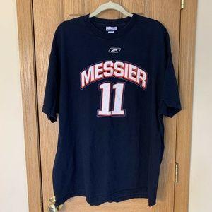 Mark Messier Retirement Stars T-shirt Rare #11 NHL